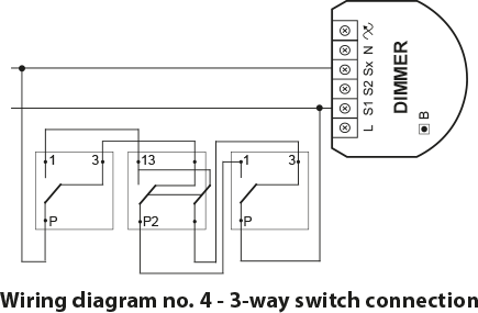 Push Dimmer 3 Way Switch Wiring - Wiring Circuit •