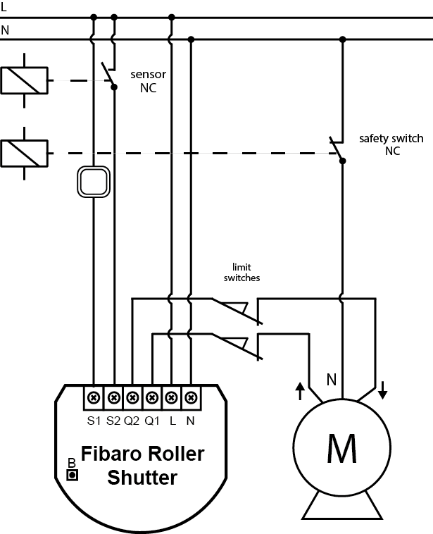 Connecting Roller Shutter To GATE Motor