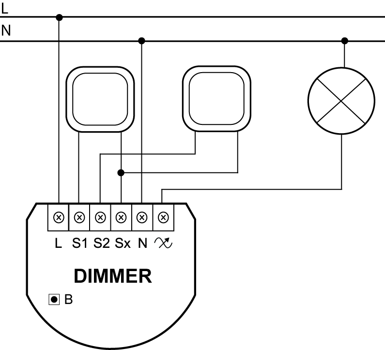Dimmer 2 Light Controller Fibaro Manuals