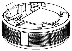 CO sensor battery