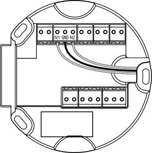 sensor wire configuration