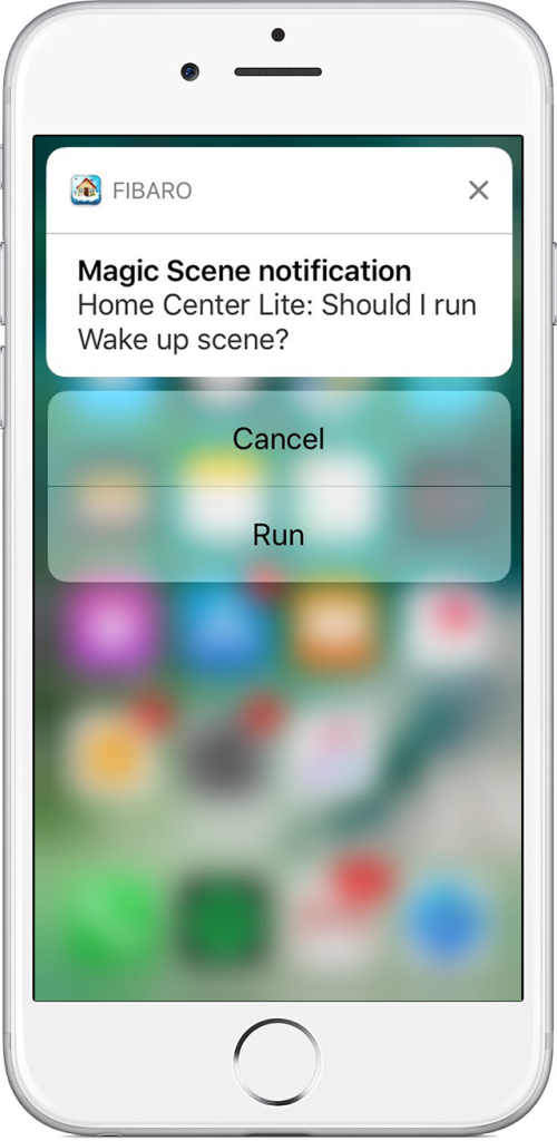 automated home notifications