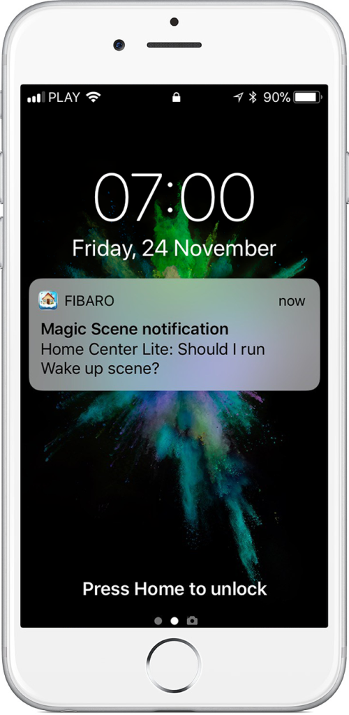 smart home notifies you