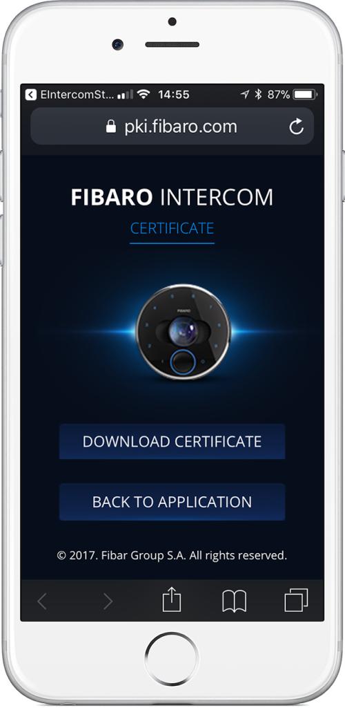 smart doorbell intercom