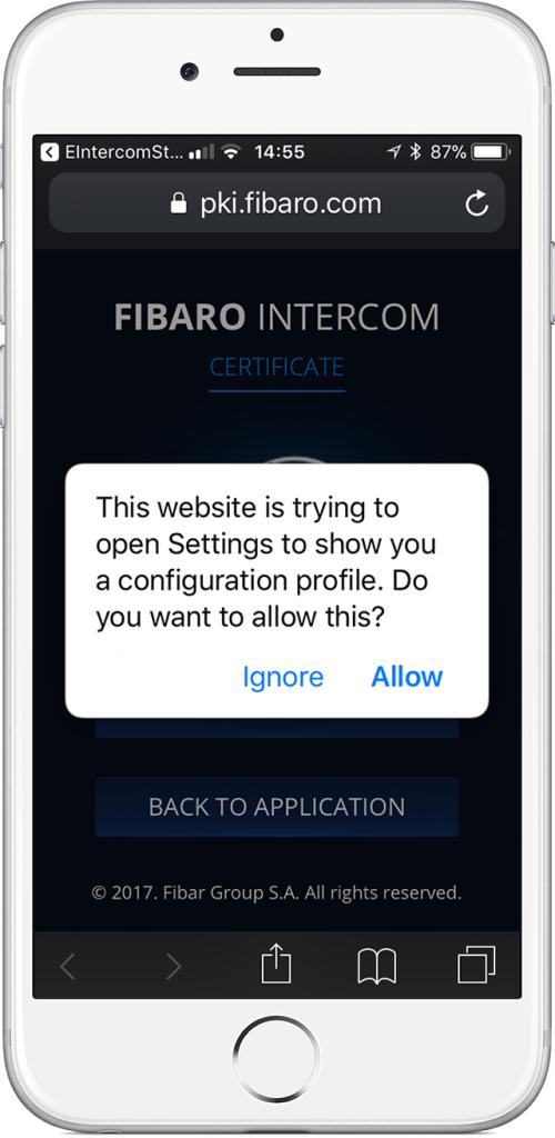 intercom app setup