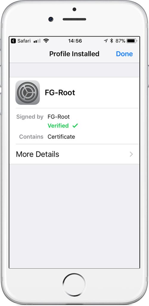 app setup for intercom