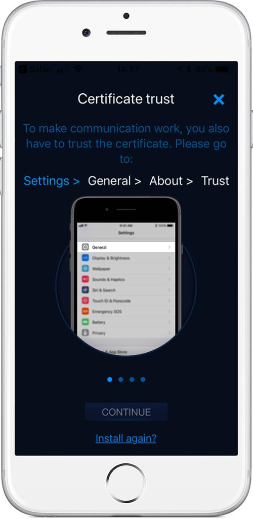 intercom iphone app