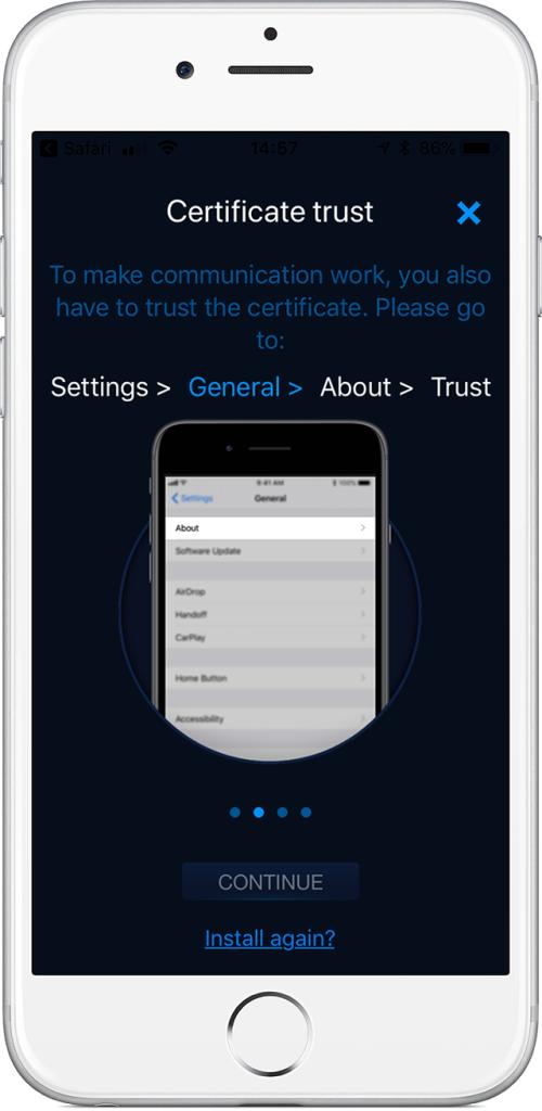 video doorbell iPhone app