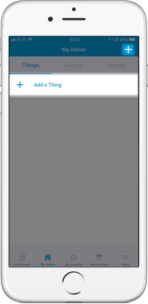 how to add handler to smartthings