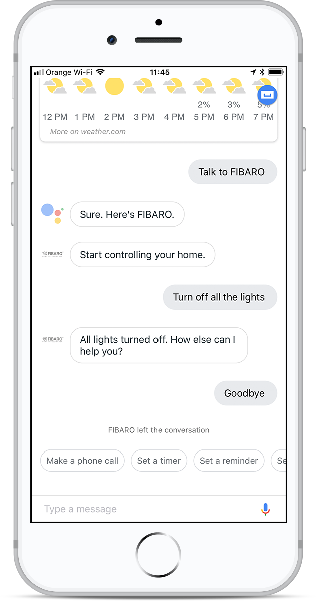 How to unlink FIBARO account from Google Assistant | FIBARO