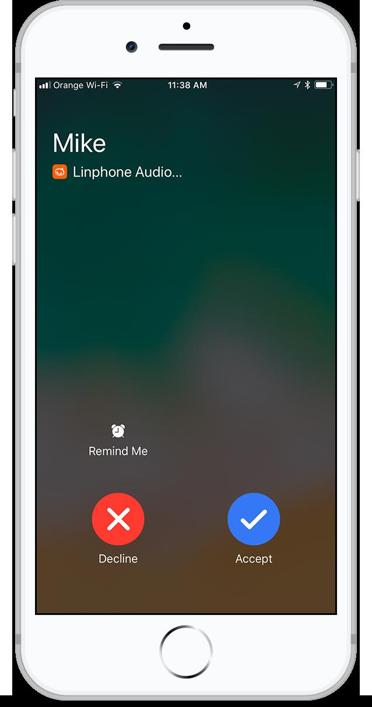 linphone dashboard 3