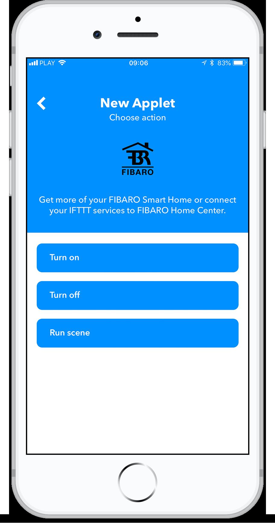 FIBARO System integration with IFTTT | FIBARO Manuals