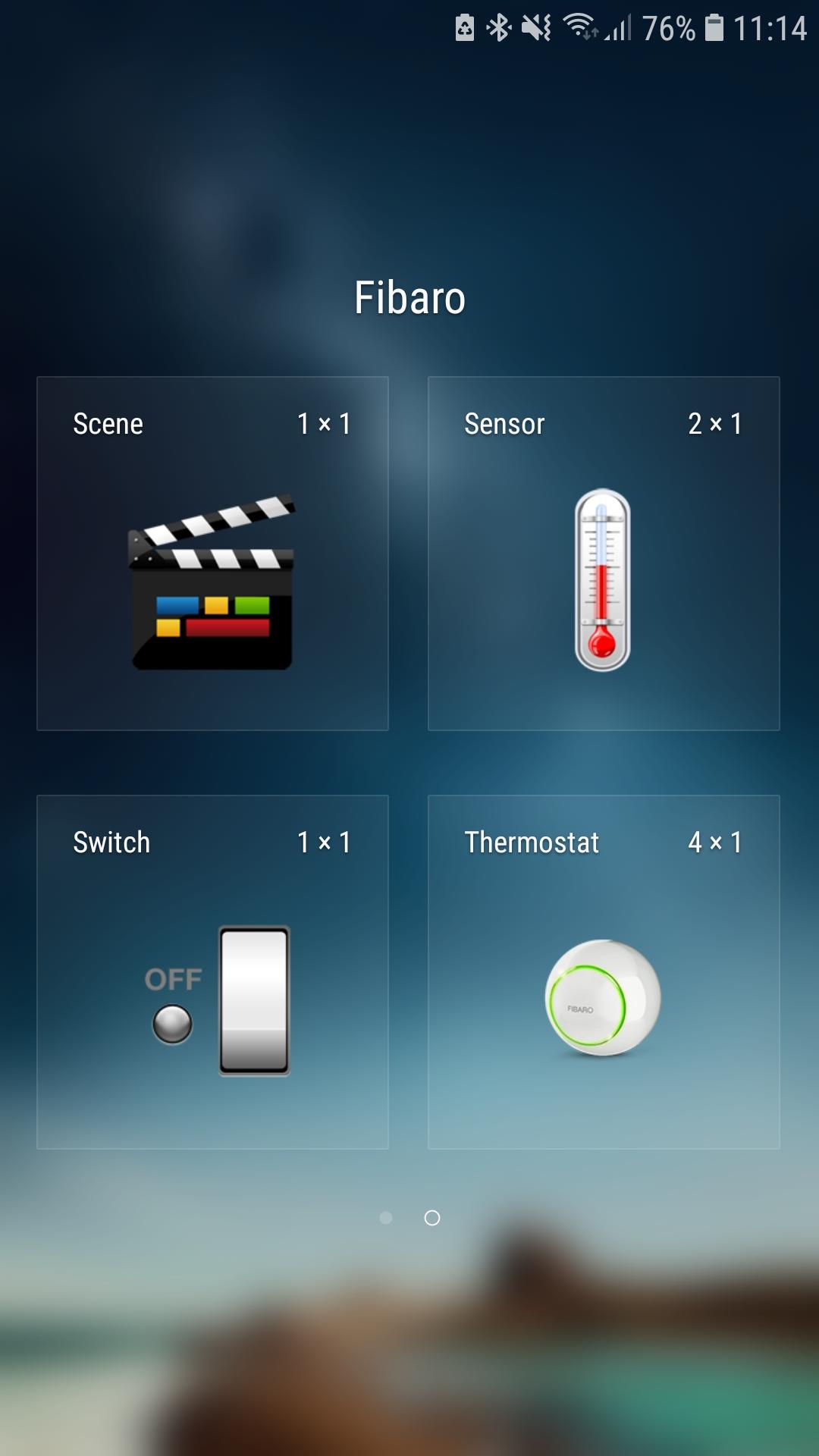 widgets for smart home