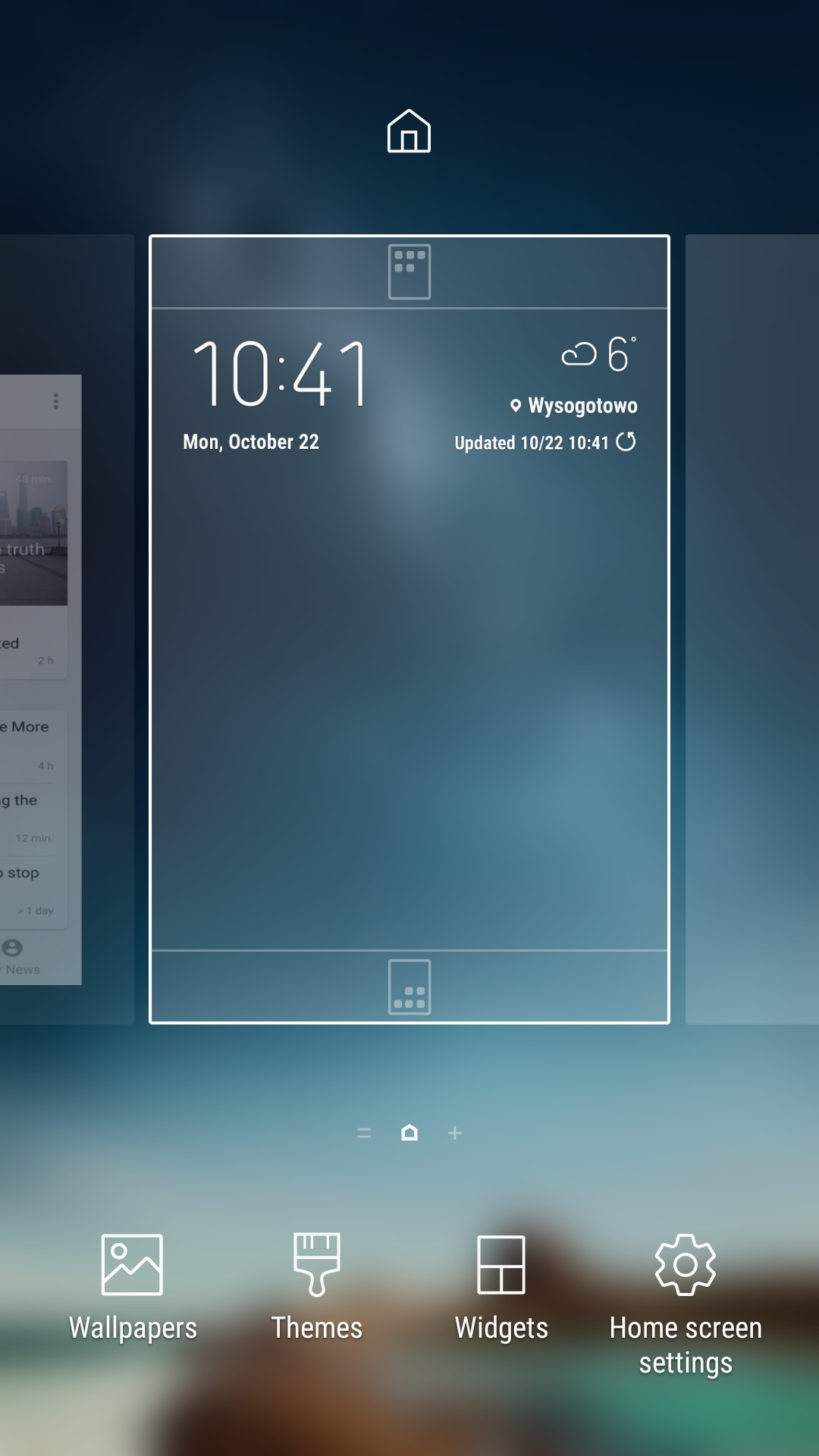 Widgets on a smartphone with Android | FIBARO Manuals
