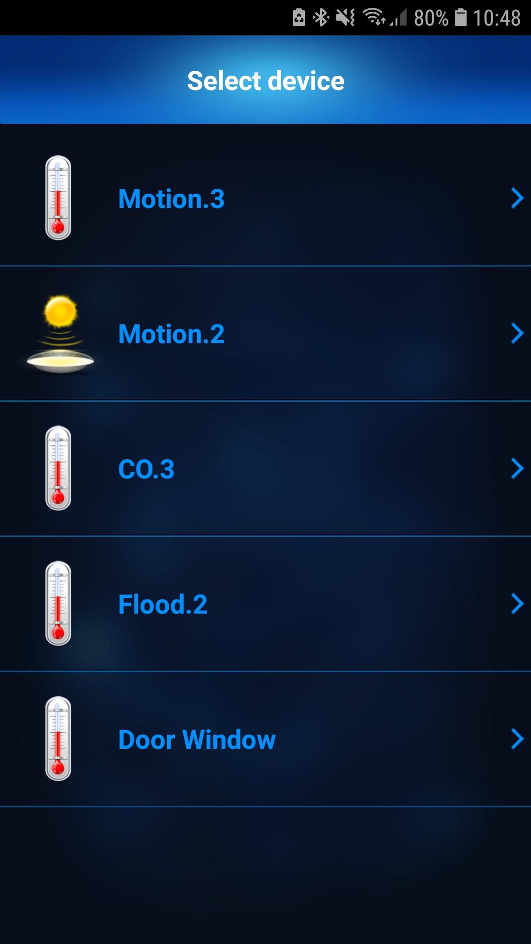 smart home widgets