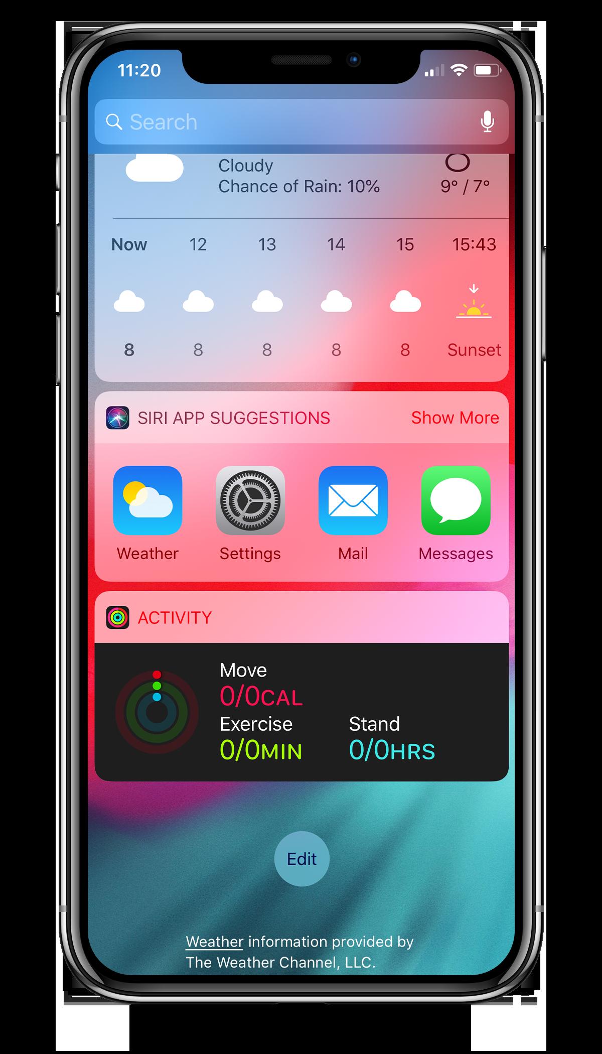 Widgets on your iPhone or iPad (FIBARO app) | FIBARO Manuals